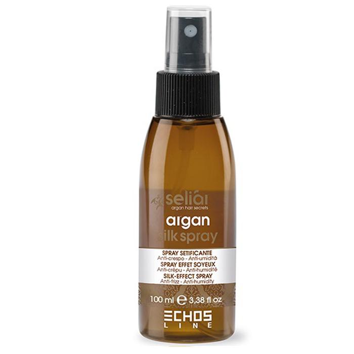Купить Масла для волос Echosline, Разглаживающий спрей Echosline Seliar Argan с маслом арганы Шелковый эффект 100 мл