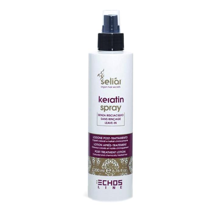 echosline Восстанавливающий спрей Echosline Seliar Keratin с маслом аргании и кератином 200 мл 257824