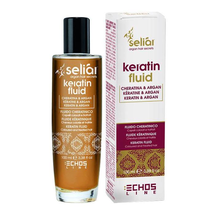 Купить Масла для волос Echosline, Масло Echosline Seliar Keratin с маслом аргании и кератином 100 мл