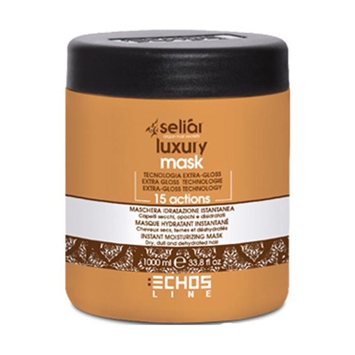 echosline Маска для волос Echosline Seliar Luxury увлажняющая 15 действий 1000 мл 257879