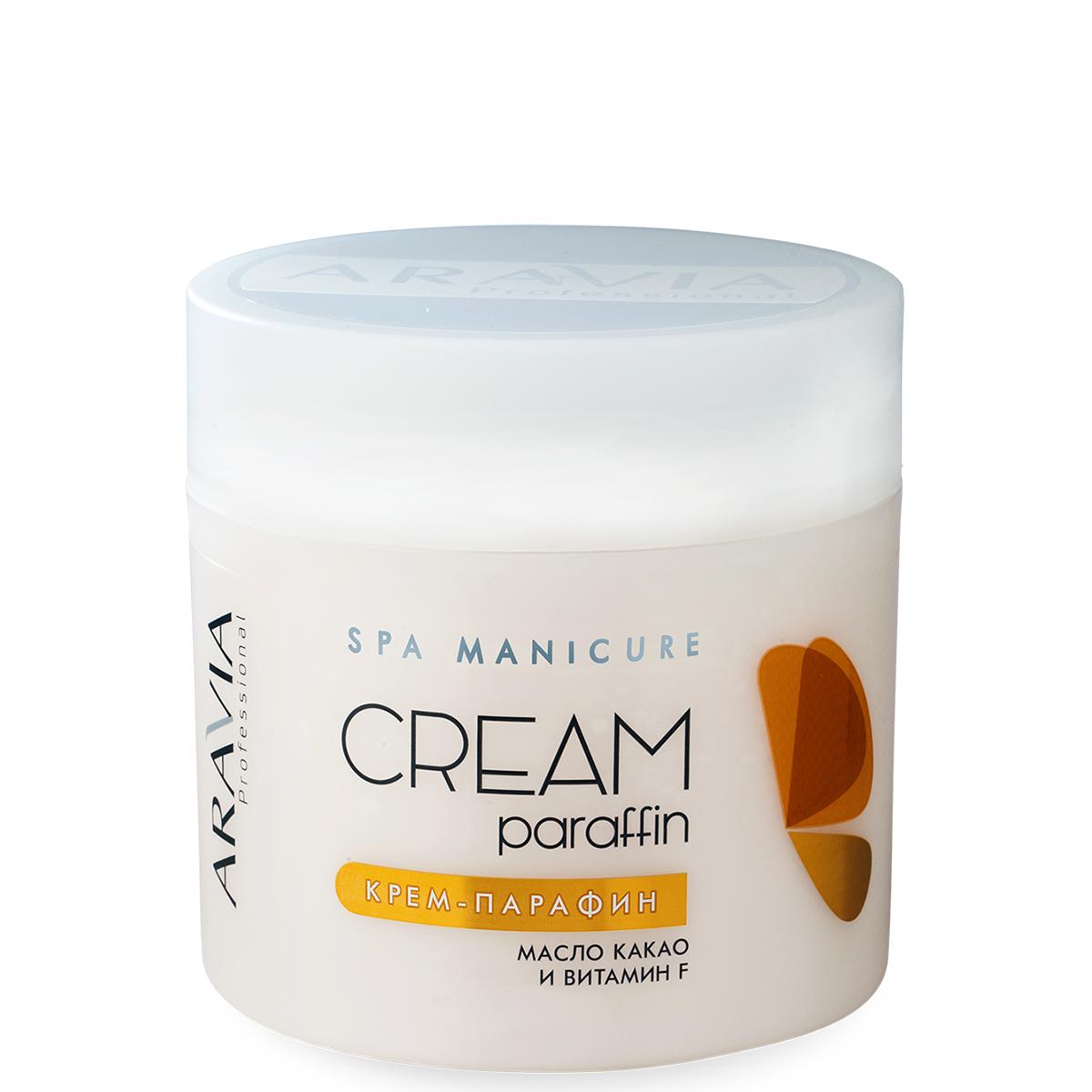 Купить Парафин Aravia, Крем парафин Aravia Professional Creamy Сhocolate c маслом какао и витамином F 300 мл