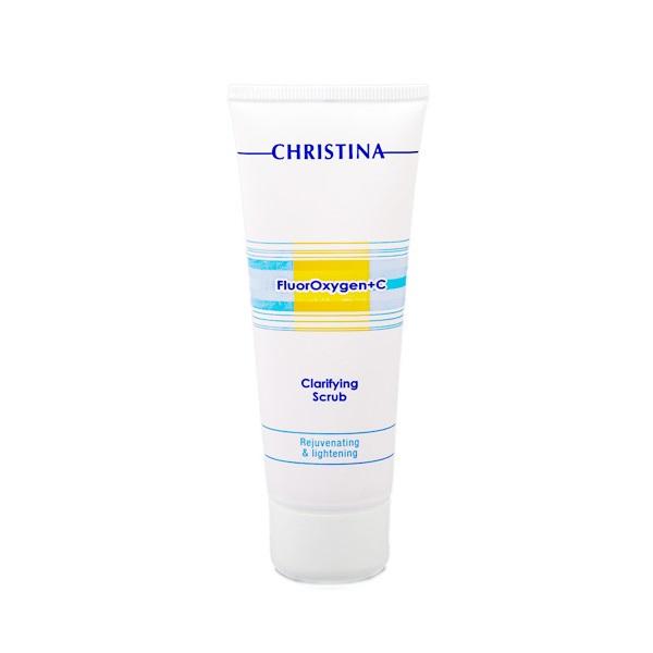 Купить Скрабы, пилинг Christina, Очищающий скраб Christina FluorOxygen + C Clarifying Scrub 75 мл