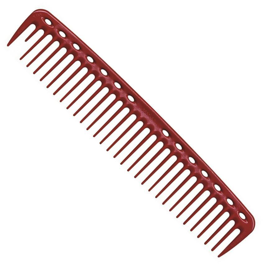 Купить Гребни Y.S.Park, Гребень Y.S.Park YS 402 Big Hearted Combs для стрижки красный