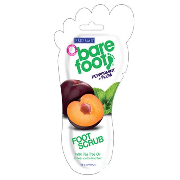 Купить Скрабы для ног Freeman, Скраб для ног Freeman Bare Foot Мята и Слива 15 мл