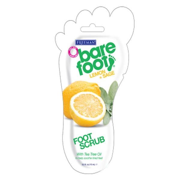 Купить Скрабы для ног Freeman, Скраб для ног Freeman Bare Foot Лимон и Шалфей 15 мл