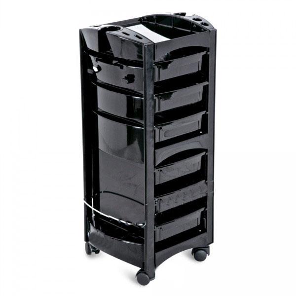 Купить Парикмахерская мебель AGV, Помощник-тележка AGV Friend черная