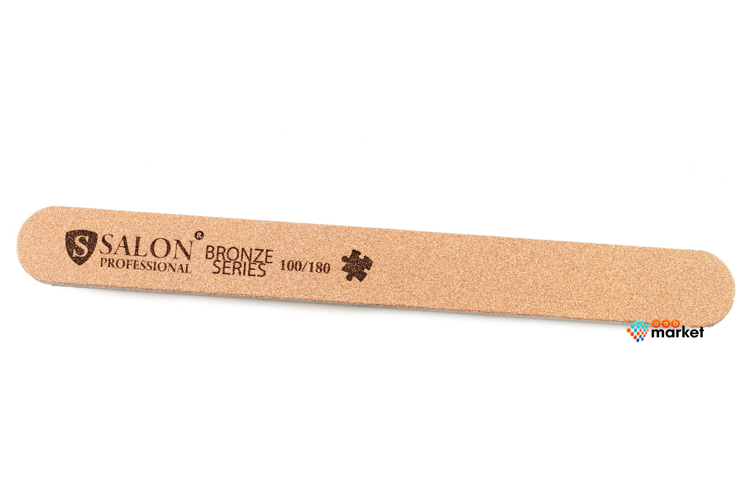 Купить Пилочки Salon, Пилочка минеральная Salon узкая медная 100/180
