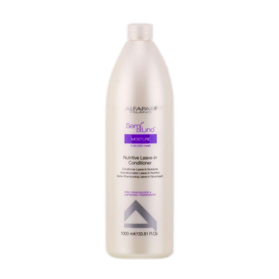 Купить Кондиционеры для волос Alfaparf, Кондиционер несмываемый Alfaparf Semi Di Lino Moisture для сухих волос 1000 мл