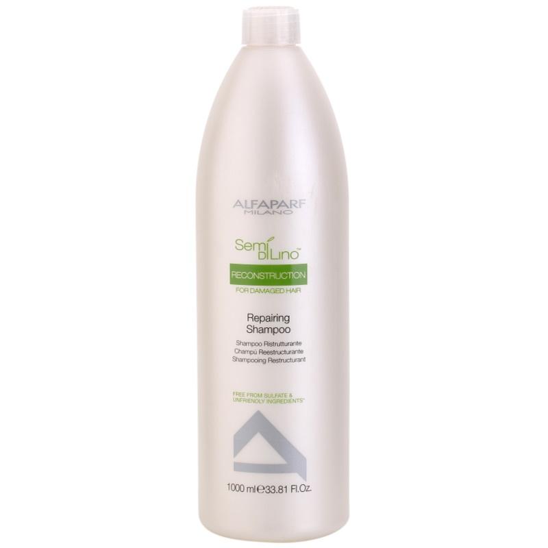 Купить Шампуни Alfaparf, Шампунь Alfaparf Semi Di Lino Reconstruction для поврежденных волос 1000 мл