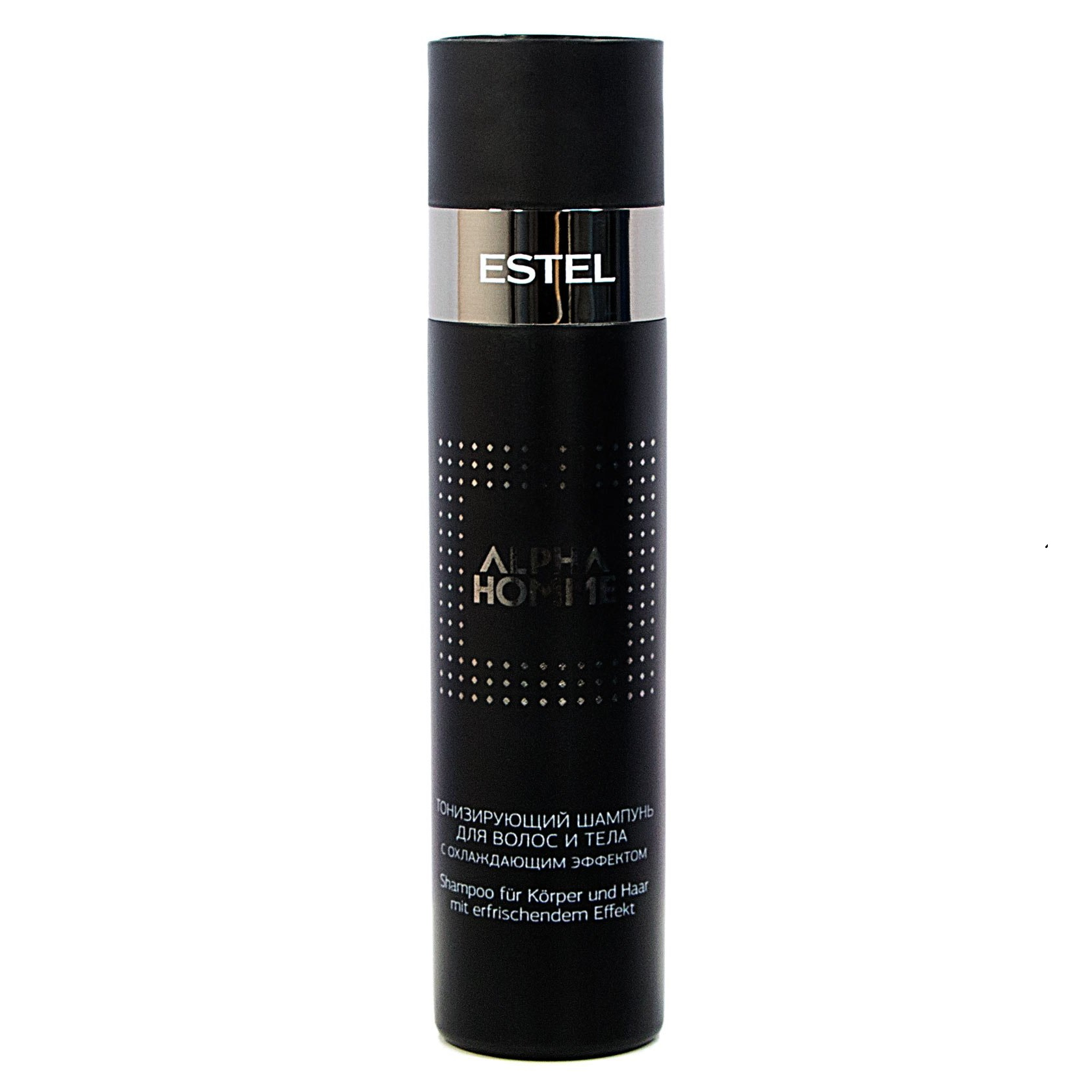 Купить Шампуни Estel, Шампунь Estel Alpha Homme тонизирующий для волос и тела 250 мл