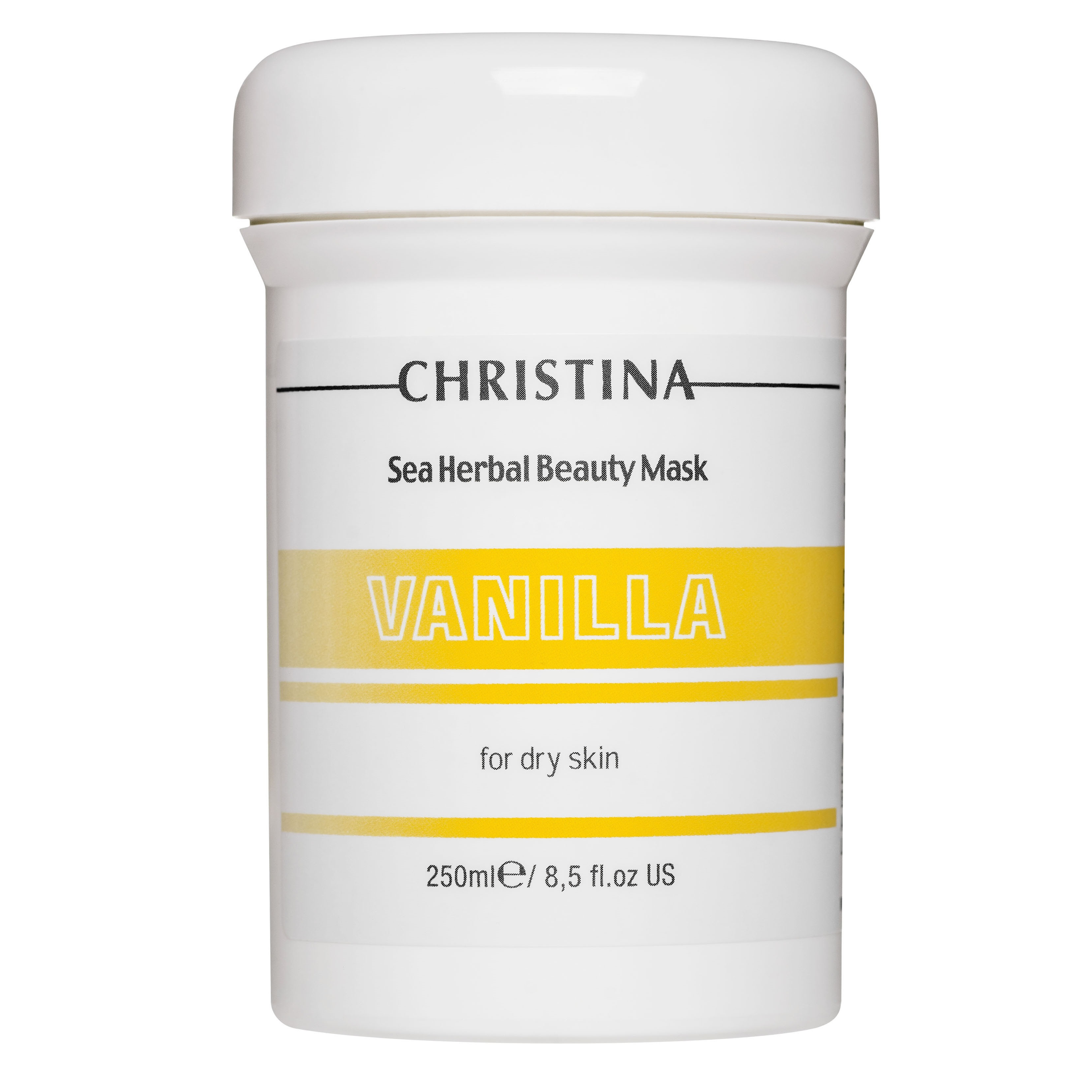 Купить Маски для лица Christina, Ванильная маска Christina Sea Herbal Beauty Mask Vanilla для сухой кожи 250 мл