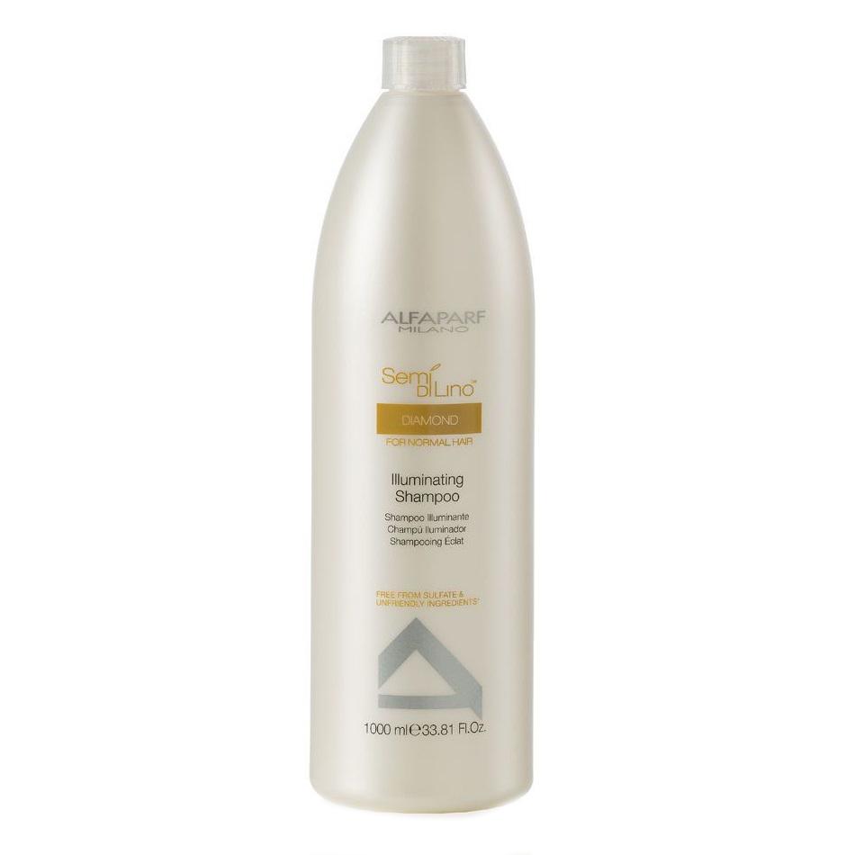 Купить Шампуни Alfaparf, Шампунь Alfaparf Semi Di Lino Diamond для нормальных волос придающий блеск 1000 мл