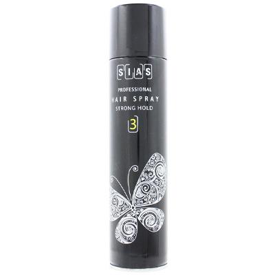 Купить Стайлинг волос SIAS, Лак для волос Sias Hair Spray Strong Hold 3 сильной фиксации 400 мл