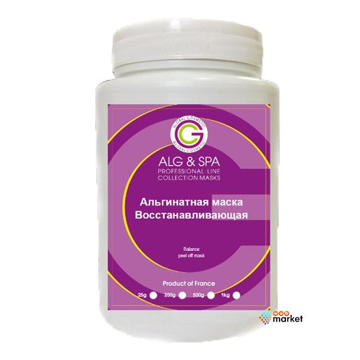 alg & spa Альгинатная маска Alg Spa Восстанавливающая для жирной кожи лица и тела 1 кг