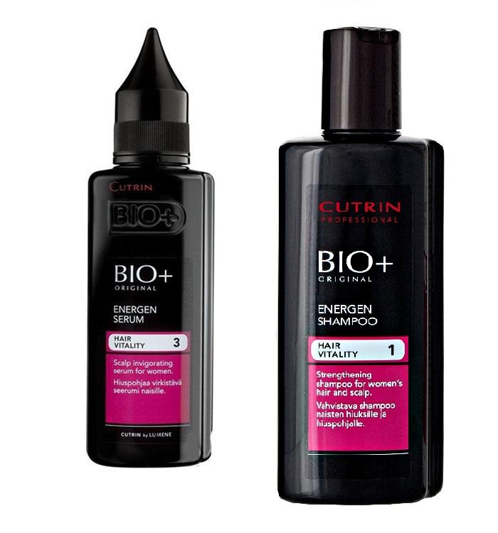 Купить Шампуни Cutrin, Набор Cutrin №4 BIO+ Energen против выпадения волос для женщин 350 мл