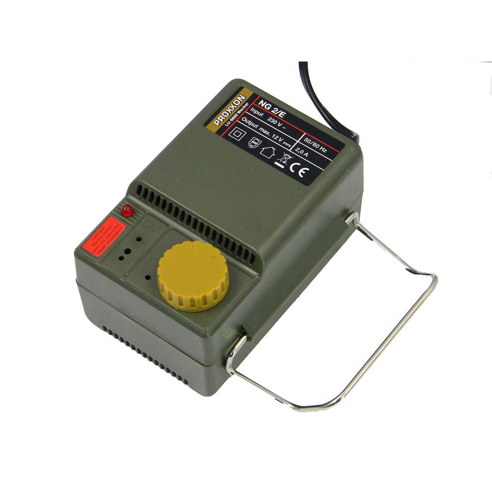 Купить Фрезеры для маникюра Proxxon, Сетевой адаптер Proxxon NG 2/E, 220V— 12-16 V; 2, 0 А с регулятором