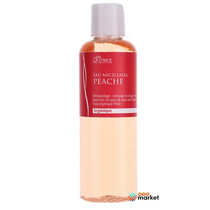Купить Лосьоны для лица La Grace, Органическая мицеллярная вода La Grace Персик 3 в 1 200 мл