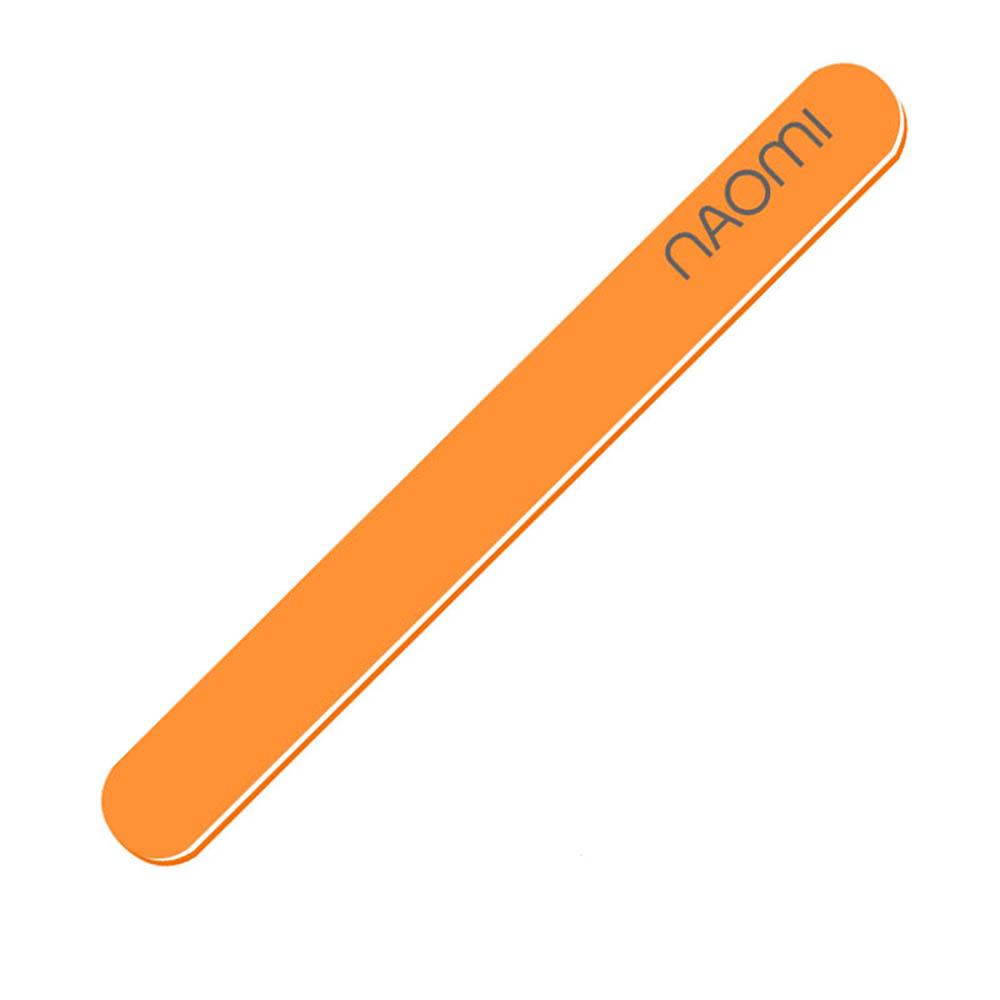 Пилочки Naomi, Пилочка минеральная Naomi оранжевая 180/180  - купить со скидкой
