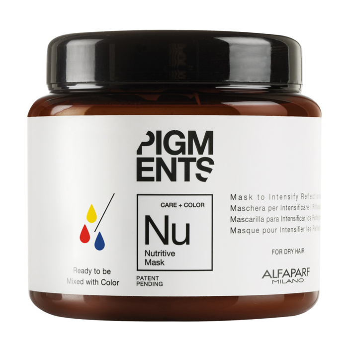 alfaparf Маска Alfaparf Pigments питательная для интенсивного блеска 200 мл