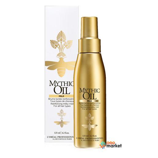 Укрепляющее молочко-вуаль L'Oreal Professionnel Mythic Oil для всех типов волос 125 мл