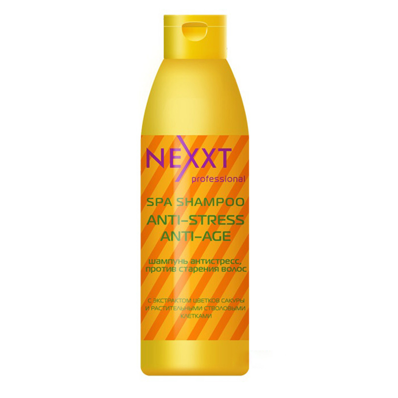 Шампунь антистресс Nexxt Professional против старения волос 1000 мл