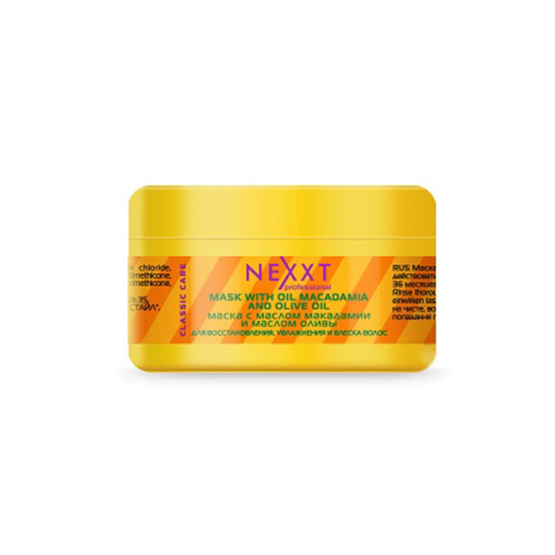 Маска Nexxt Professional с маслом макадамии и маслом оливы 200 мл