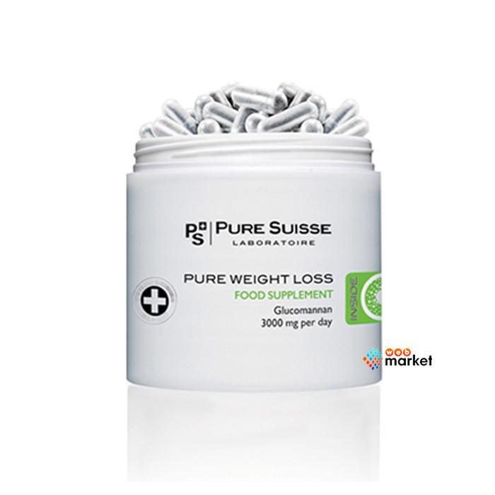 Пищевая добавка Pure Suisse для снижения веса 84 капсулы