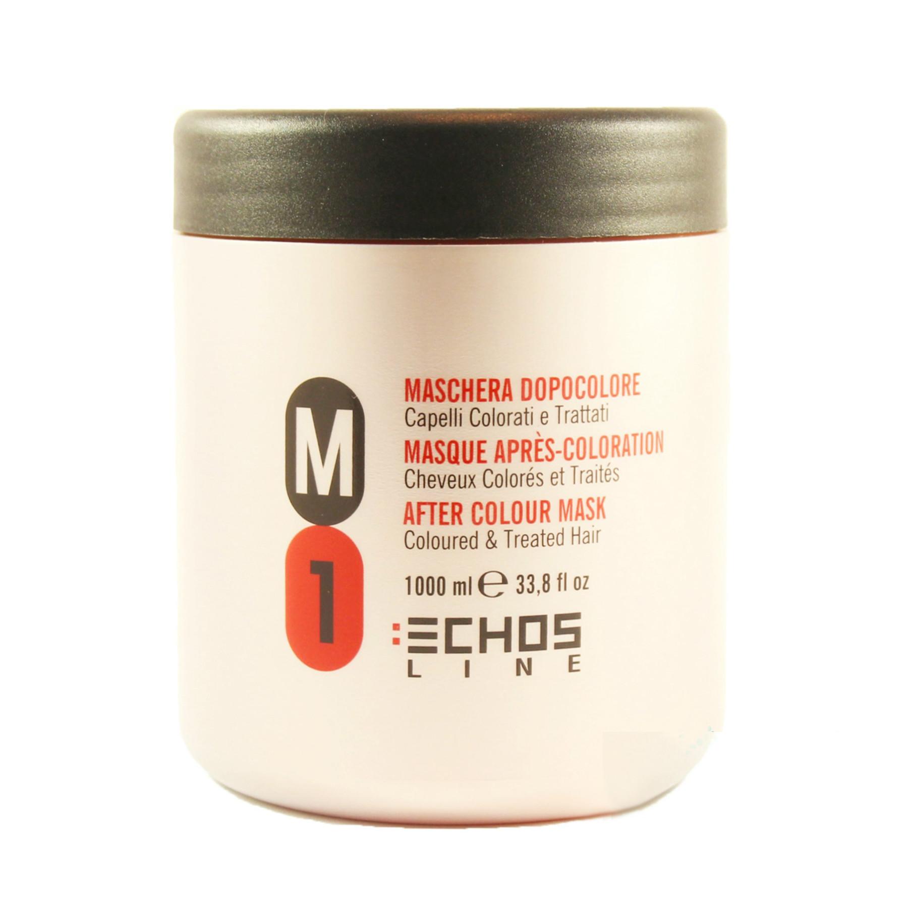 Маска Echosline M1 для окрашенных и поврежденных волос 1000 мл