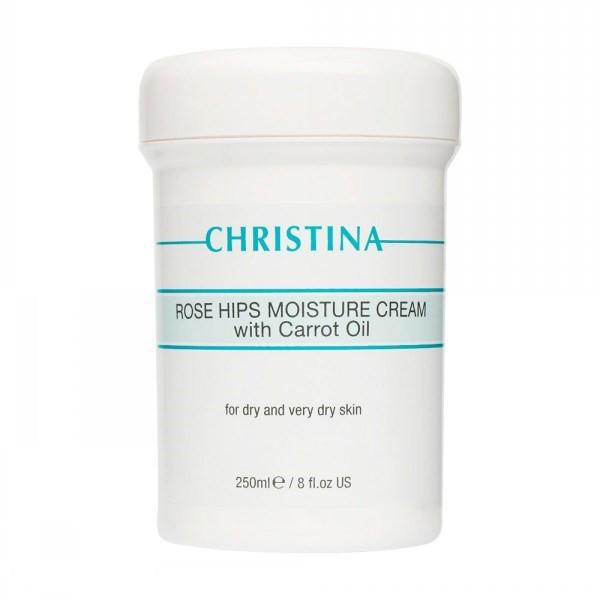 Увлажняющий крем Christina Rose Hips Moisture Cream With Carrot Oil 250 мл