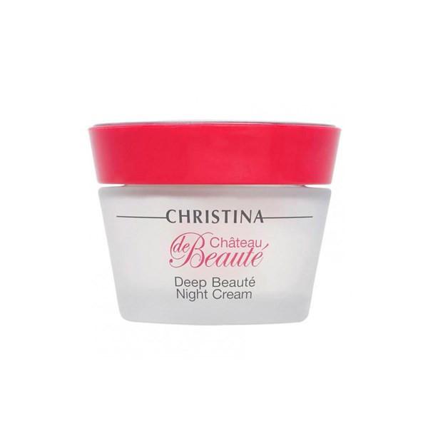 Обновляющий ночной крем Christina Chateau de Beaute Deep Beaute Night Cream Интенсивный 50 мл