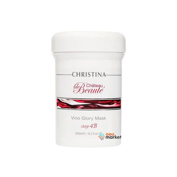 Маска для моментального лифтинга Christina Сhat. de Beaute Vino Glory Mask-4b на основе экстракта винограда 250 мл