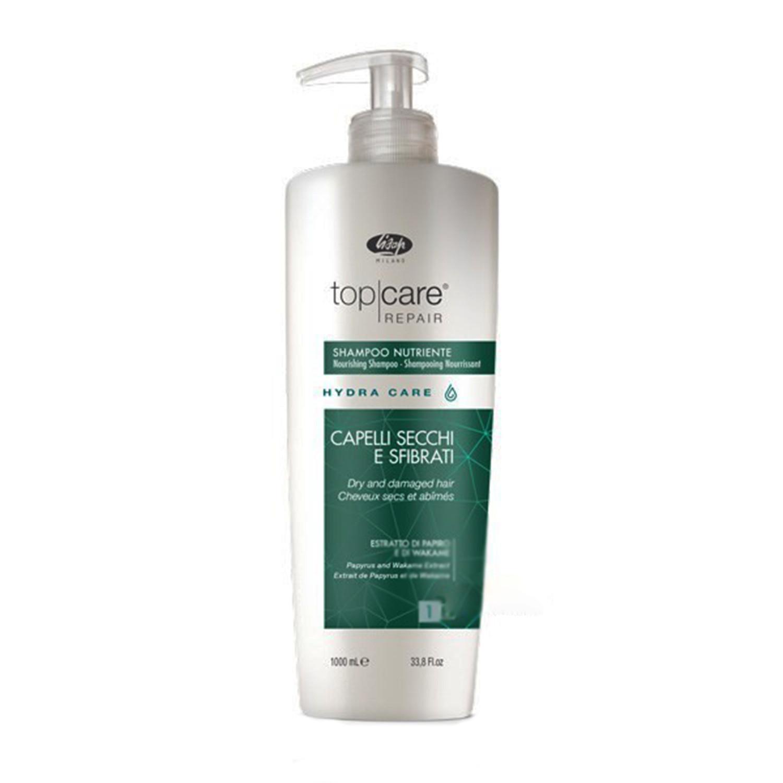 Интенсивный шампунь Lisap Hydra Сare без сульфатов для сухих и поврежденных волос 250 мл